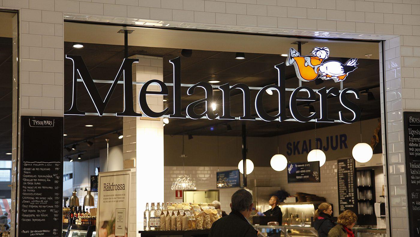 Kvalitetsskyltar åt Melanders