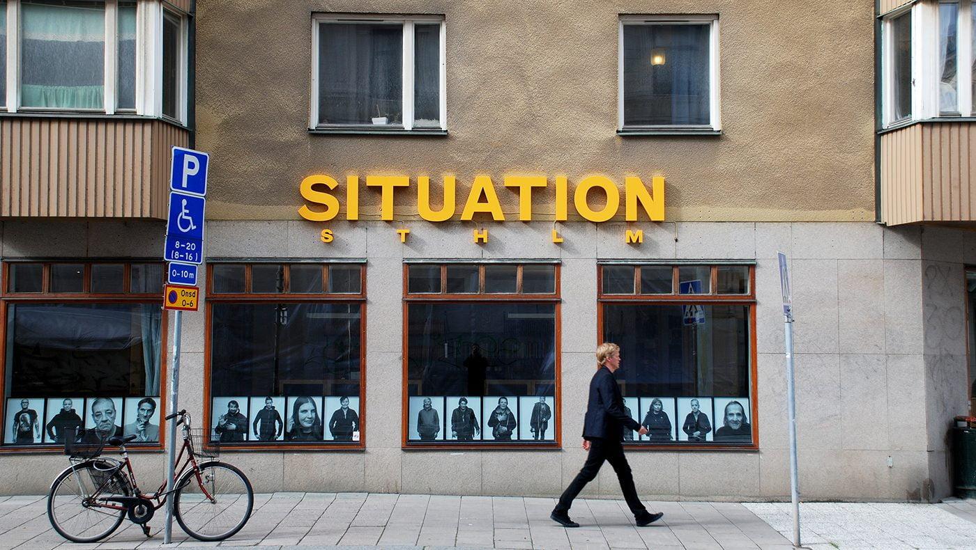 Fasadskyltar Situation Stockholm