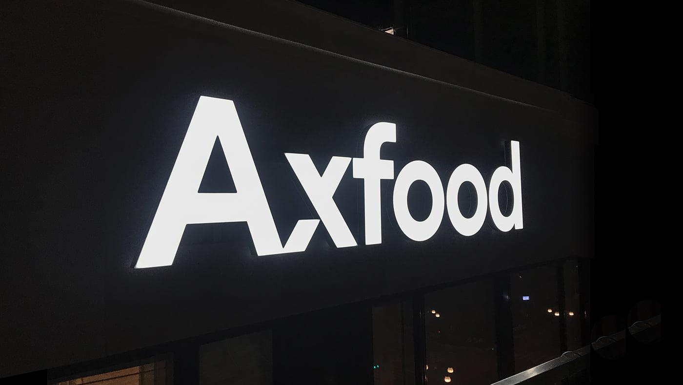 Axfood Miljöskylt