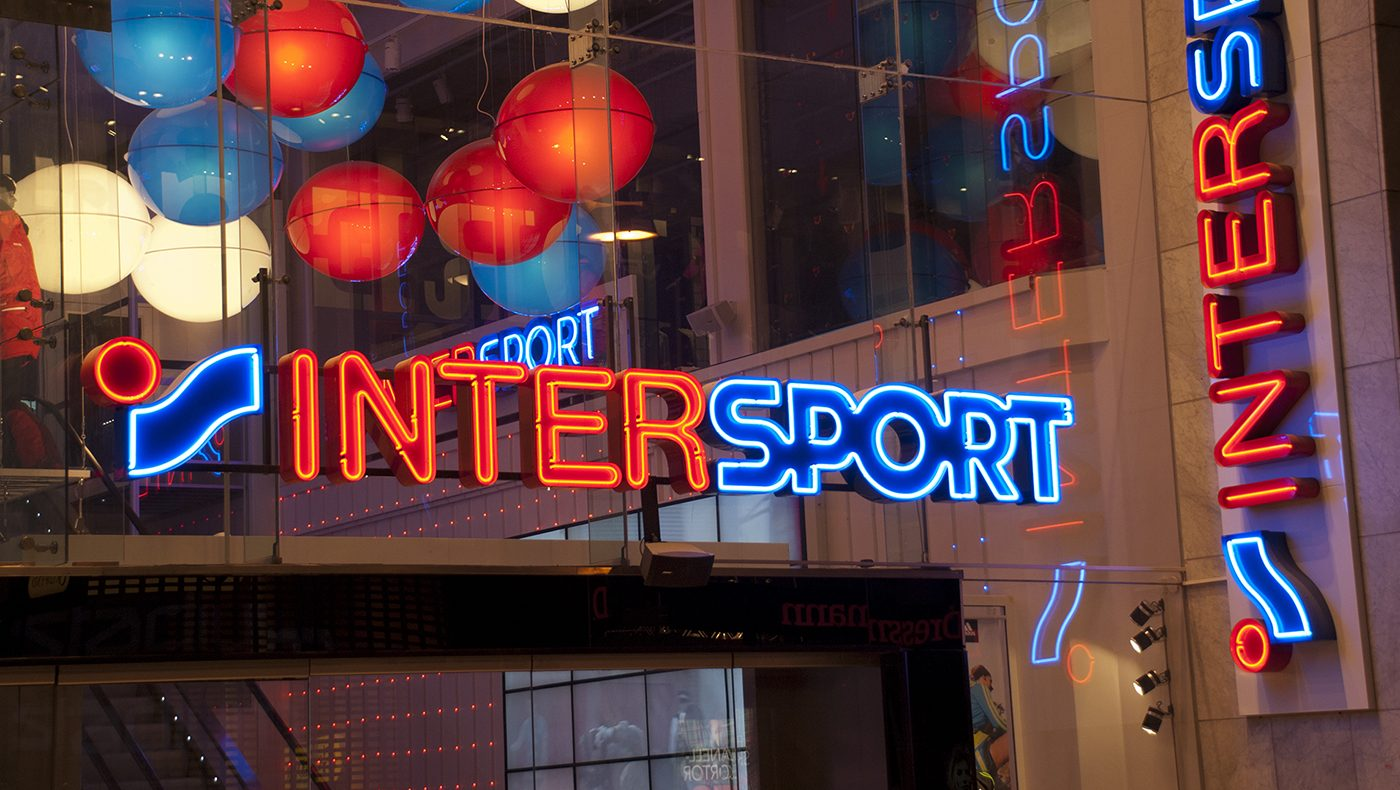 Omprofilering Intersport