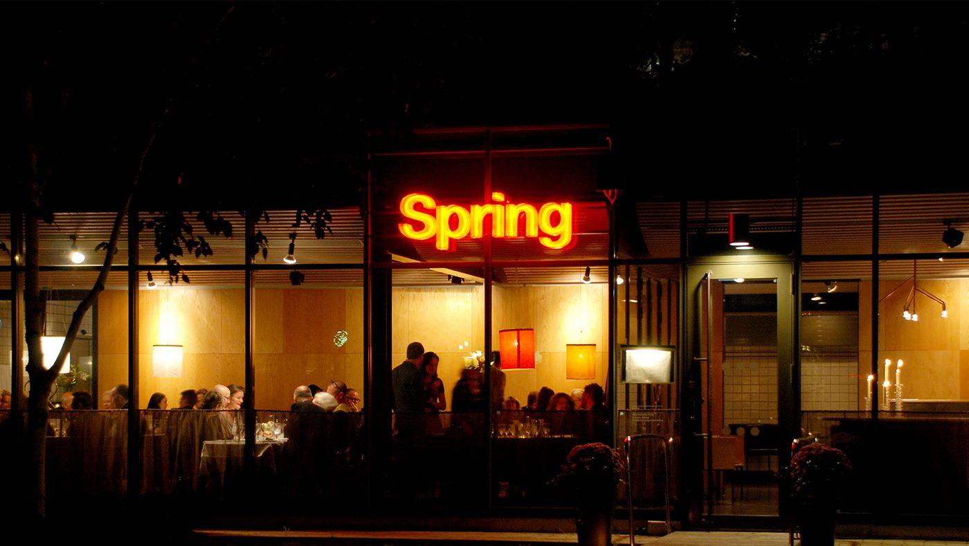 Neonskyltar restaurang