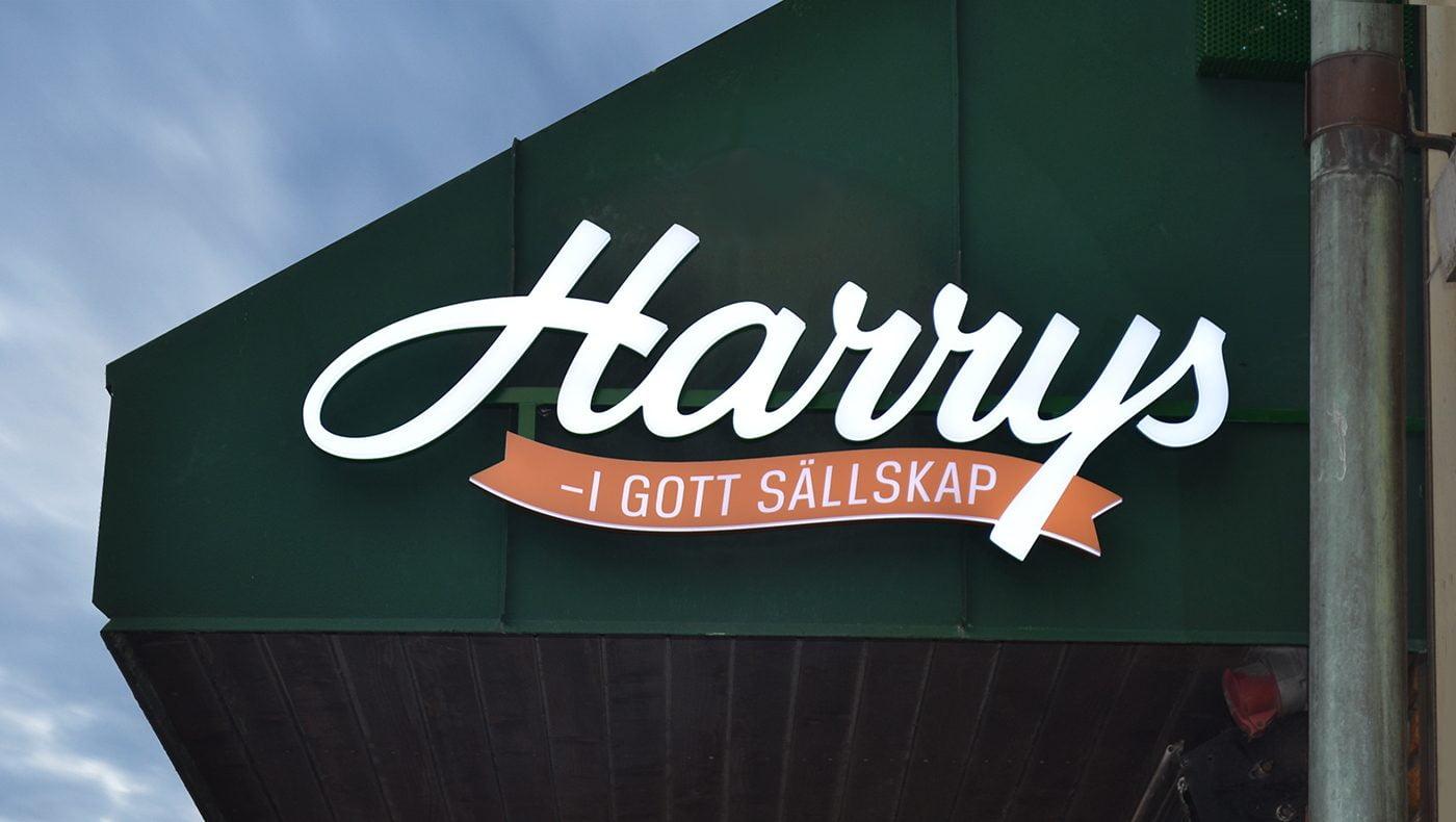 Omprofilering Harrys