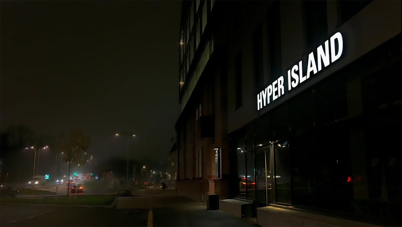 Svart logga Hyper Island
